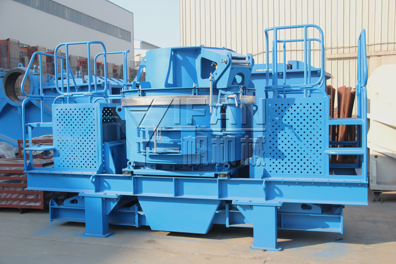 impact crusher is the important secondary crushing equipment in the gravel production line