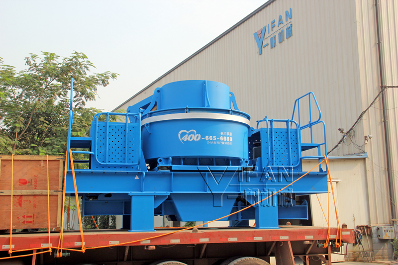 YIFAN Created Professional VI 8000II Vertical Shaft Impact Crusher for Chongqing Customer