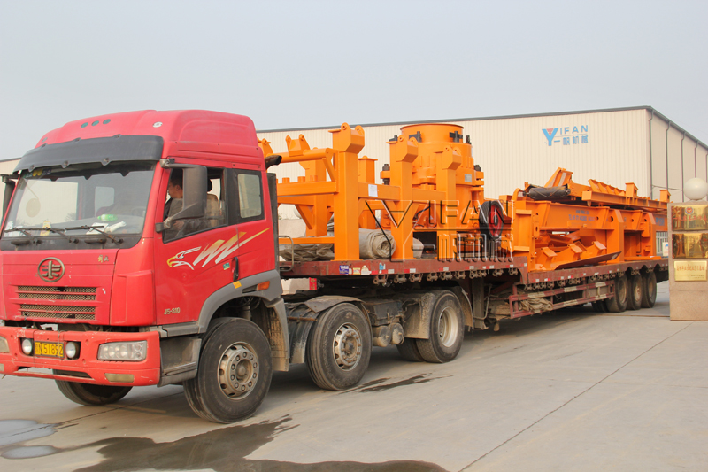 YIFAN Mobile Cone Crushing Plant was Sent to Sri Lanka