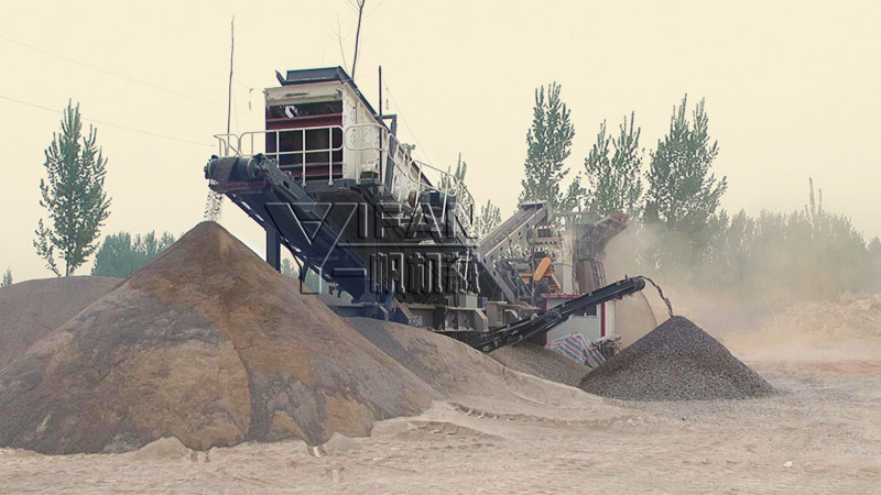 YIFAN Mobile Crushing Plant Helps with Puyang Construction Waste Disposal