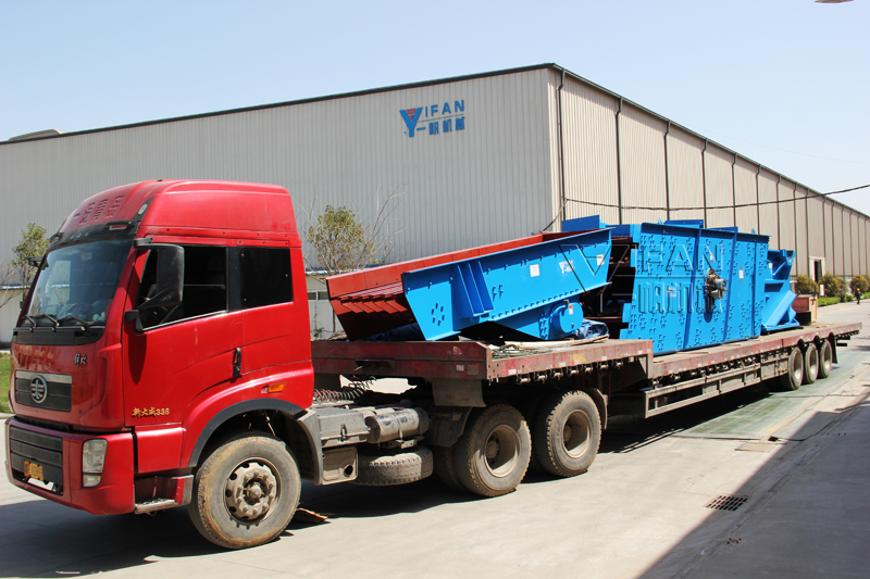 YIFAN crushing and screening equipments was sent to Indonesia