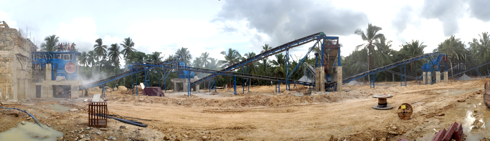 YIFAN stone production line becomes the procurement focus of Sri Lanka customers