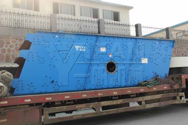 3YK1860 vibrating screen were packed to Shanghai
